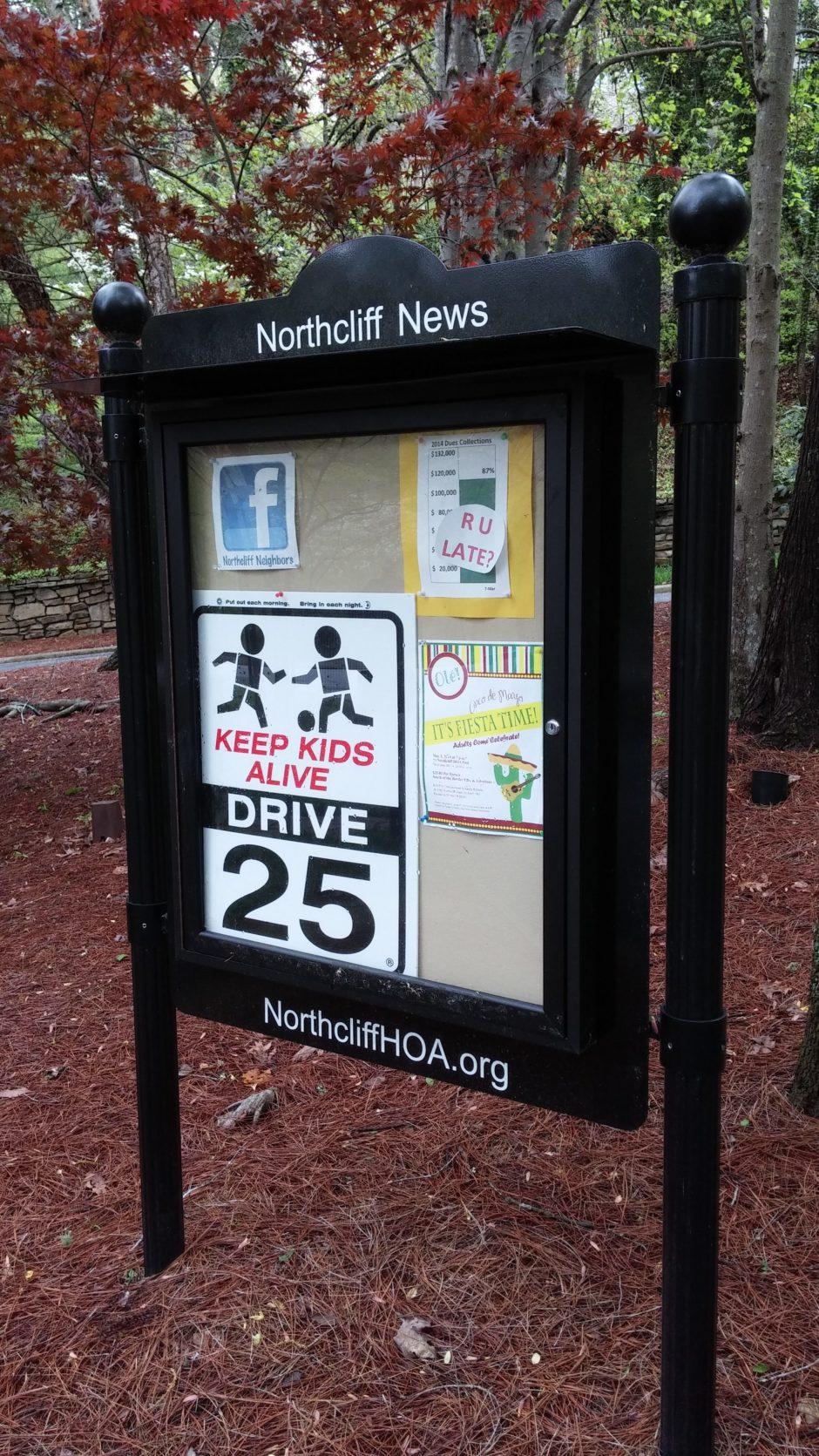 Outdoor Message Center Outdoor Message Center