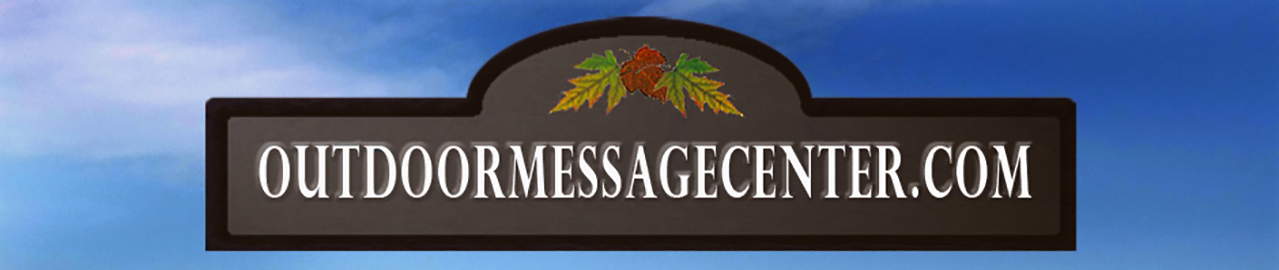 Outdoor Message Boards by Mailbox Makeovers LLC