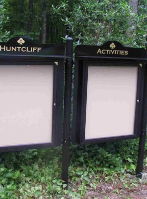 Outdoor Message Center – DOUBLE WIDE